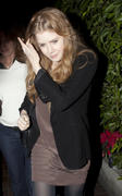 Amy Adams leaving AGO Restaurant in West Hollywood 16-12-2010