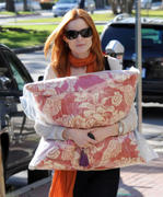 Marcia Cross - out and about in Brentwood 24.11.10 not HQ