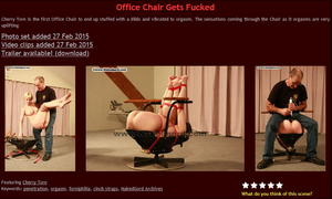 House of Gord: Office Chair Gets Fucked