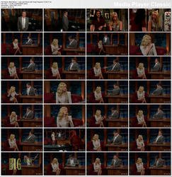Beth Behrs ~ Late Late Show with Craig Ferguson 12/02/11 (HDTV)